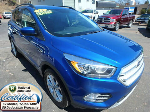 2018 Ford Escape for sale at Jon's Auto in Marquette MI