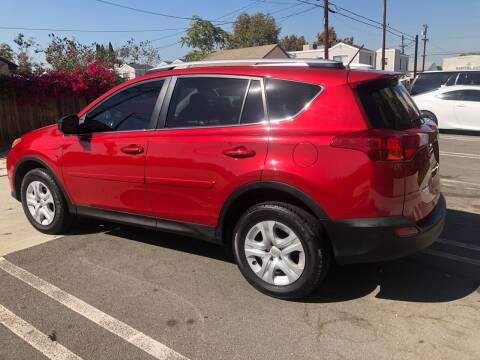 2015 Toyota RAV4 for sale at Bell Auto Inc in Long Beach CA