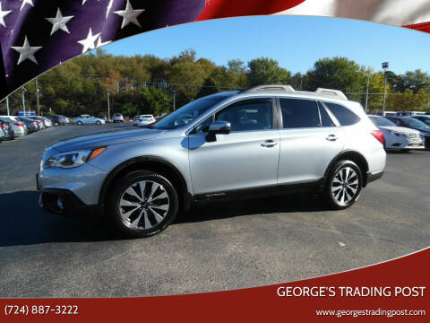 2017 Subaru Outback for sale at GEORGE'S TRADING POST in Scottdale PA