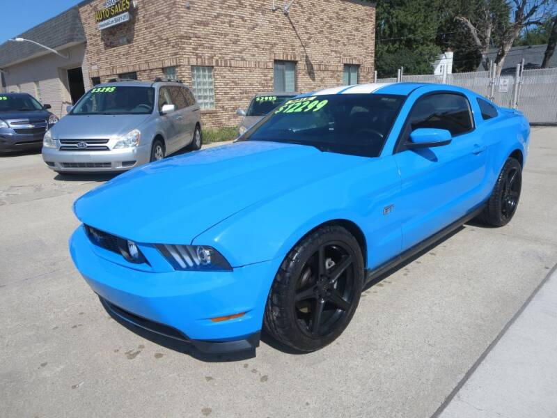 2010 Ford Mustang for sale at Drive Auto Sales in Roseville MI