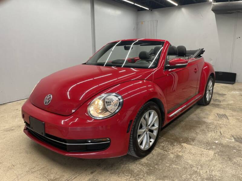 2013 Volkswagen Beetle Convertible for sale at Flash Auto Sales in Garland TX