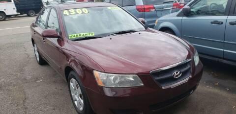 2008 Hyundai Sonata for sale at TC Auto Repair and Sales Inc in Abington MA