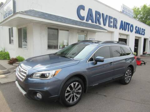 2016 Subaru Outback for sale at Carver Auto Sales in Saint Paul MN