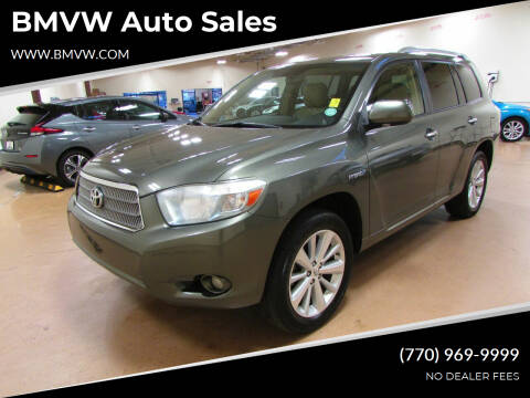 2010 Toyota Highlander Hybrid for sale at BMVW Auto Sales - Hybrids in Union City GA