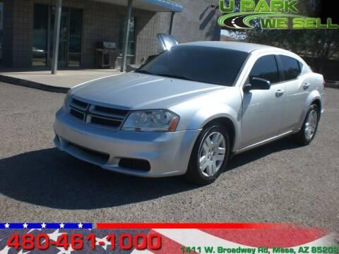 2012 Dodge Avenger for sale at UPARK WE SELL AZ in Mesa AZ
