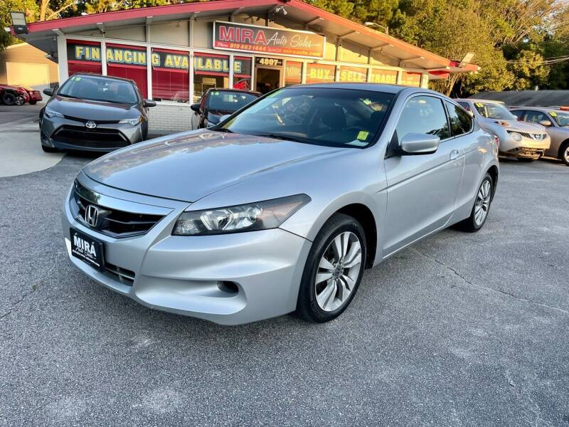 2011 Honda Accord for sale at Mira Auto Sales in Raleigh NC