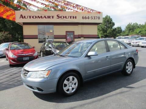 2009 Hyundai Sonata for sale at Automart South in Alabaster AL