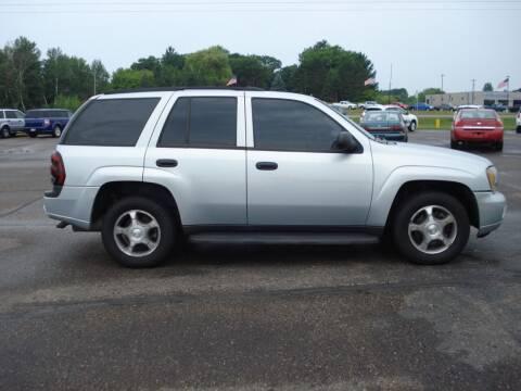 2008 Chevrolet TrailBlazer for sale at North Star Auto Mall in Isanti MN