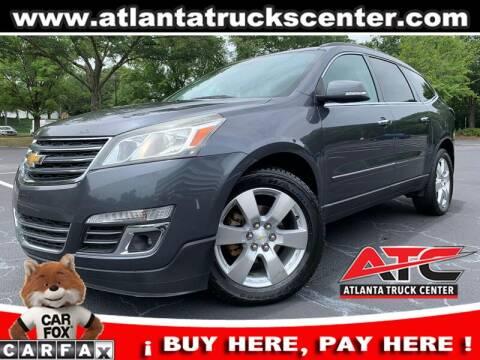 2013 Chevrolet Traverse for sale at ATLANTA TRUCK CENTER LLC in Brookhaven GA