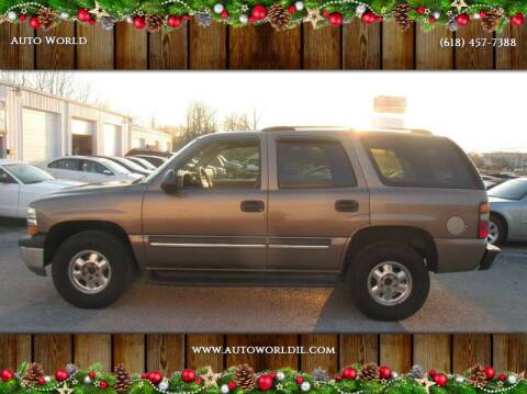 2004 Chevrolet Tahoe for sale at Auto World in Carbondale IL