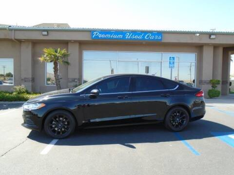 2017 Ford Fusion for sale at Family Auto Sales in Victorville CA
