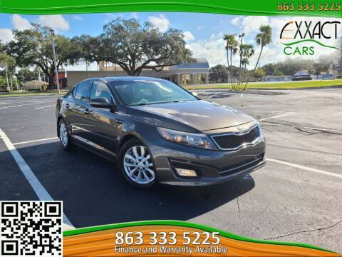 2015 Kia Optima for sale at Exxact Cars in Lakeland FL