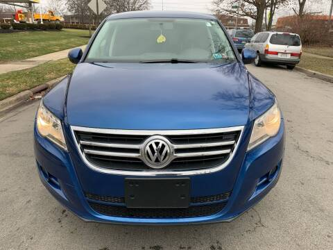 2010 Volkswagen Tiguan for sale at Via Roma Auto Sales in Columbus OH