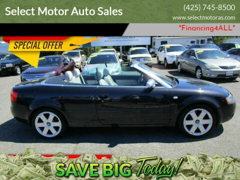 2005 Audi S4 for sale at Select Motor Auto Sales in Lynnwood WA