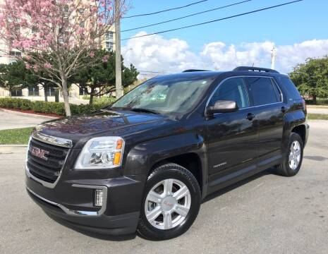 2016 GMC Terrain for sale at FIRST FLORIDA MOTOR SPORTS in Pompano Beach FL