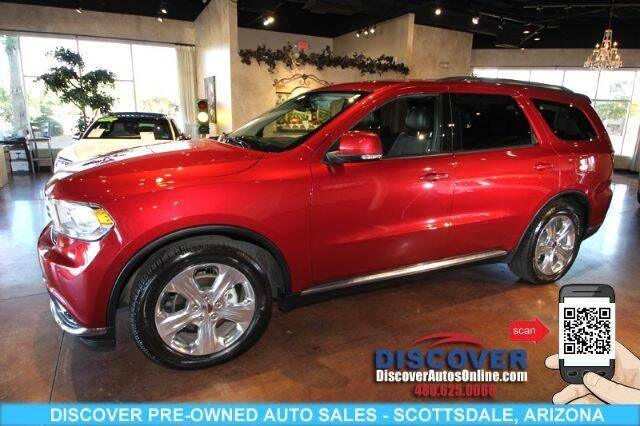 2015 Dodge Durango for sale at Discover Pre-Owned Auto Sales in Scottsdale AZ