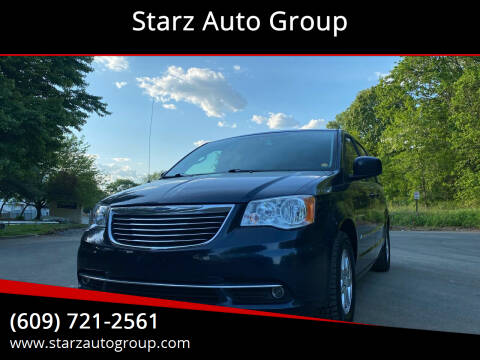 2012 Chrysler Town and Country for sale at Starz Auto Group in Delran NJ