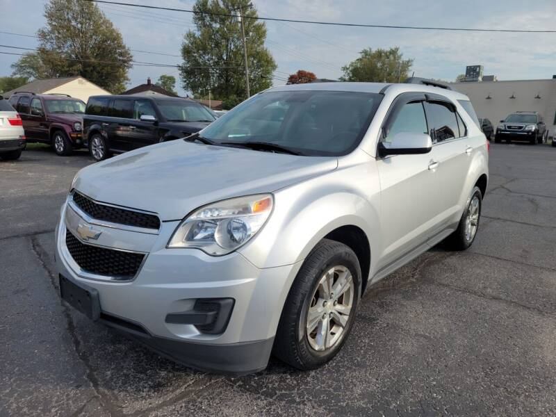 2013 Chevrolet Equinox for sale at Samford Auto Sales in Riverview MI