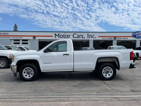 2015 GMC Sierra 1500 for sale at MOTOR CARS INC in Tulare CA