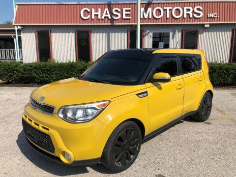 2014 Kia Soul for sale at Chase Motors Inc in Stafford TX