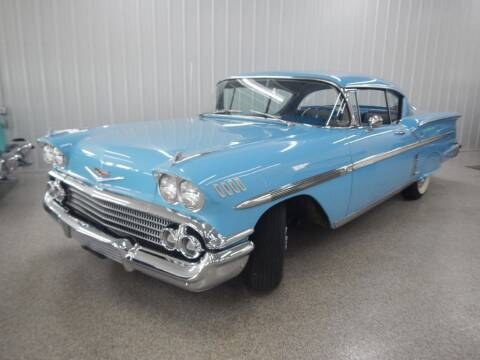 1958 Chevrolet Impala for sale at Custom Rods and Muscle in Celina OH