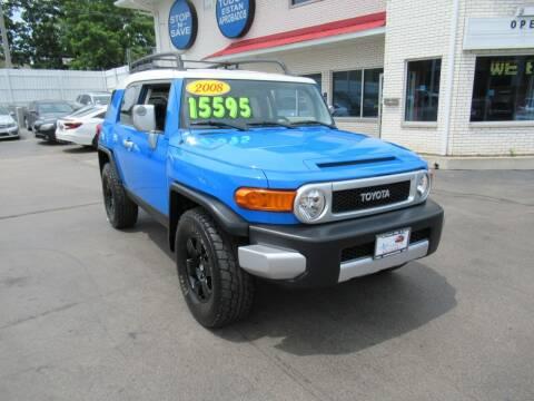 2008 Toyota FJ Cruiser for sale at Auto Land Inc in Crest Hill IL
