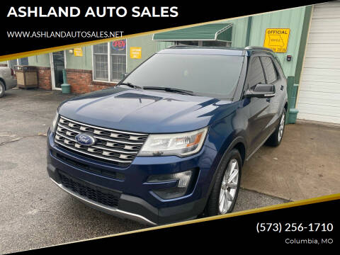 2016 Ford Explorer for sale at ASHLAND AUTO SALES in Columbia MO