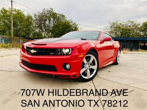 2011 Chevrolet Camaro for sale at RICKY'S AUTOPLEX in San Antonio TX