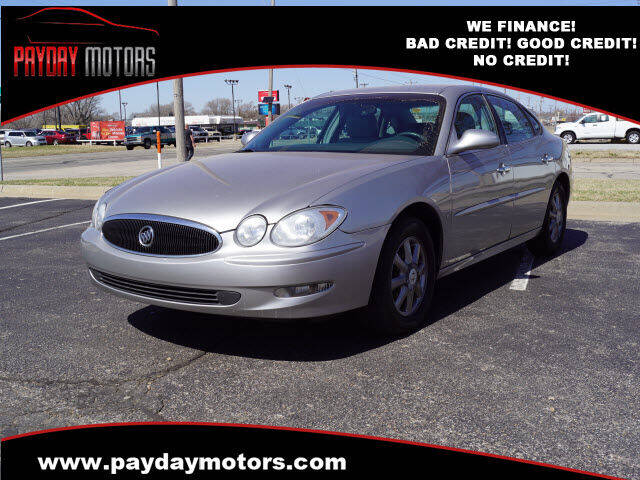 2007 Buick LaCrosse for sale at Payday Motors in Wichita KS