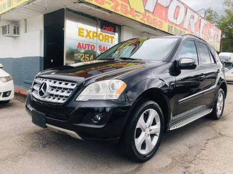 2009 Mercedes-Benz M-Class for sale at EXPORT AUTO SALES, INC. in Nashville TN