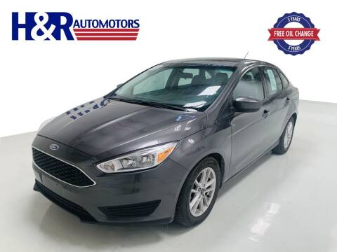 2018 Ford Focus for sale at H&R Auto Motors in San Antonio TX