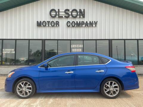 2013 Nissan Sentra for sale at Olson Motor Company in Morris MN