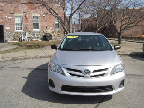 2011 Toyota Corolla for sale at EBN Auto Sales in Lowell MA