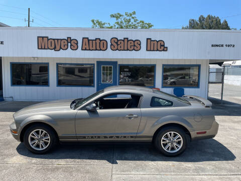 2005 Ford Mustang for sale at Moye's Auto Sales Inc. in Leesburg FL