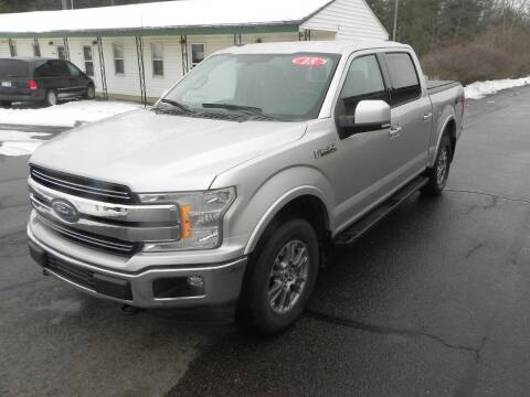 2018 Ford F-150 for sale at Thompson Car Company in Bad Axe MI