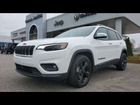 2021 Jeep Cherokee for sale at Herman Jenkins Used Cars in Union City TN