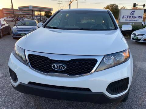2013 Kia Sorento for sale at Auto Union LLC in Virginia Beach VA