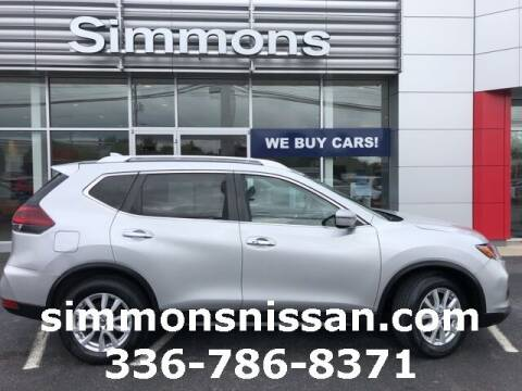 2018 Nissan Rogue for sale at SIMMONS NISSAN INC in Mount Airy NC