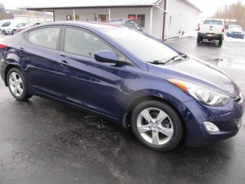 2013 Hyundai Elantra for sale at Thompson Motors LLC in Attica NY