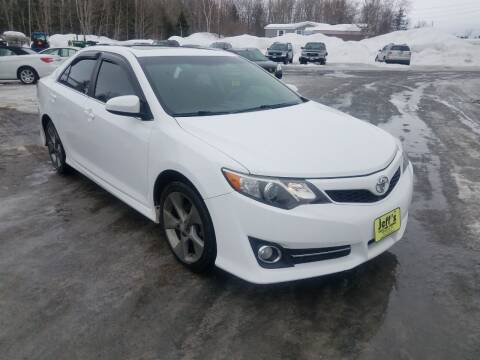 2014 Toyota Camry for sale at Jeff's Sales & Service in Presque Isle ME