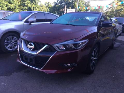 2016 Nissan Maxima for sale at MELILLO MOTORS INC in North Haven CT
