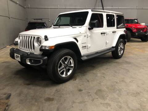 2019 Jeep Wrangler Unlimited for sale at EA Motorgroup in Austin TX