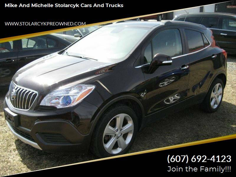 2016 Buick Encore for sale at Mike and Michelle Stolarcyk Cars and Trucks in Whitney Point NY