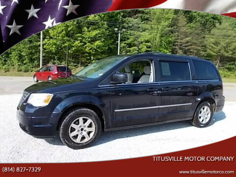 2010 Chrysler Town and Country for sale at Titusville Motor Company in Titusville PA
