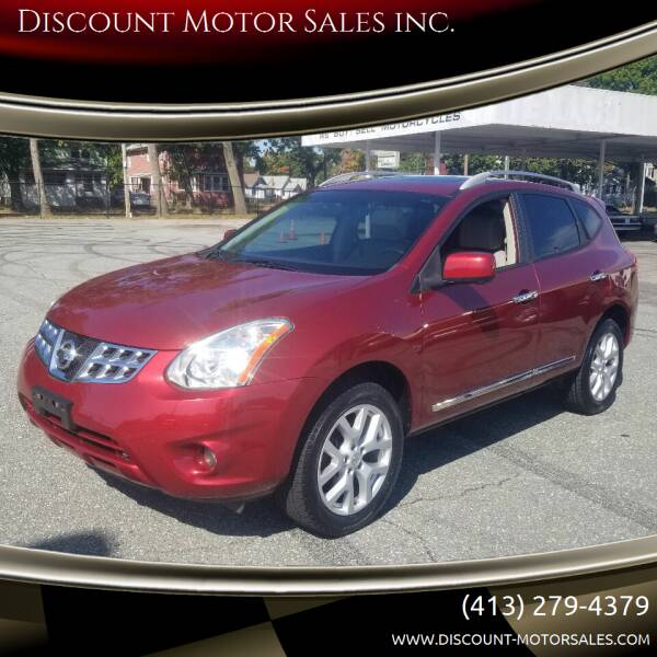 2013 Nissan Rogue for sale at Discount Motor Sales inc. in Ludlow MA