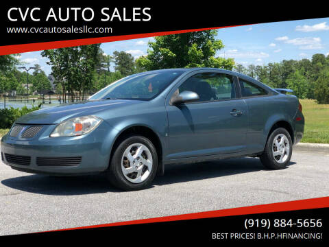 2007 Pontiac G5 for sale at CVC AUTO SALES in Durham NC
