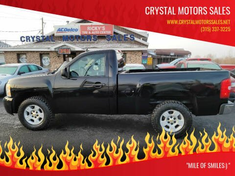 2008 Chevrolet Silverado 1500 for sale at CRYSTAL MOTORS SALES in Rome NY