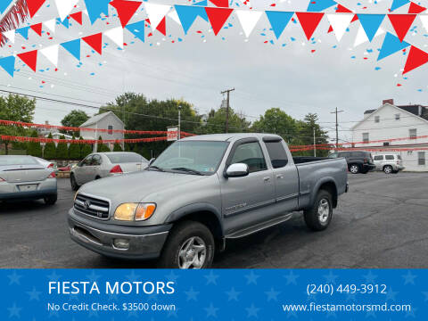 2002 Toyota Tundra for sale at FIESTA MOTORS in Hagerstown MD