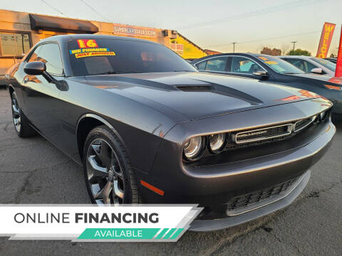 2016 Dodge Challenger for sale at Super Cars Sales Inc #1 - Super Auto Sales Inc #2 in Modesto CA