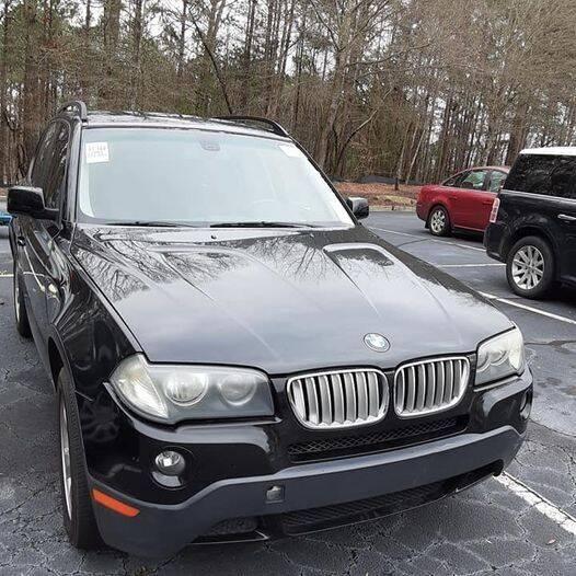 2008 BMW X3 for sale at Car Deals Auto Sales LLC in Atlanta GA